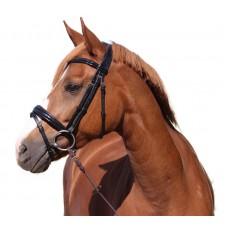 BRIDLE HORSE COMFORT SHINY CROCO