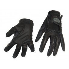 RIDING GLOVES LEATHER/SYNTHETIC, HORSE COMFORT PRO