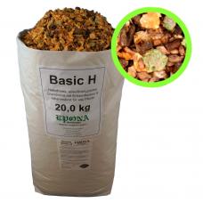 BASIC H no miežu un kukurūzas pārslām (20kg)