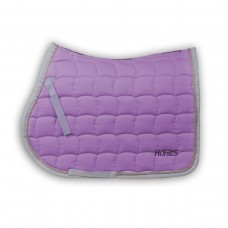 Horses Cord Piping Saddle Pad