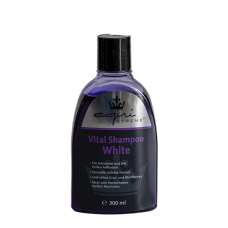 equiXTREME Vital Shampoo White – for grey horses and all light coat colours